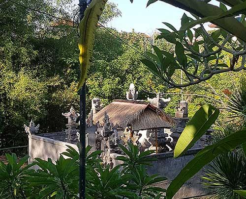 The Temple Merajan in Swarna Dwipa, Bona, Bali