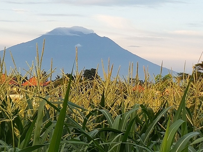 Gunung Agung in Bali